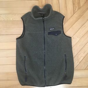 Patagonia Men's Synchilla Snap-T Vest Size Small